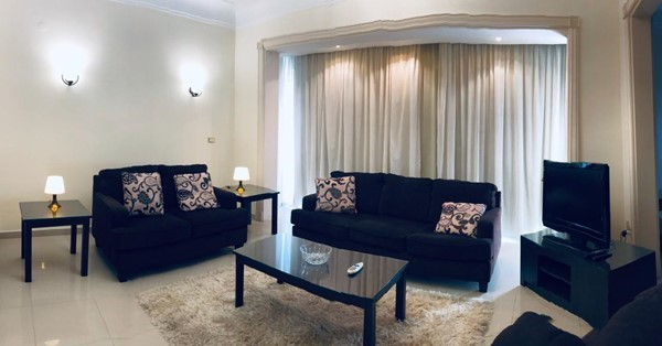 Apartment 125m overlooking garden for rent in Zamalek